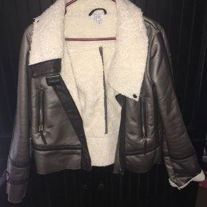 Tobi leather jacket